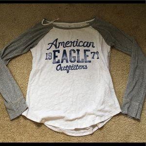American Eagle Baseball Tee